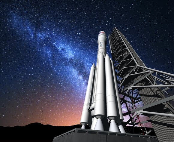 Artist's conception of Orbital ATK OmegA rocket.