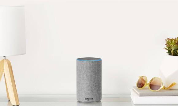 Amazon's second generation Echo.