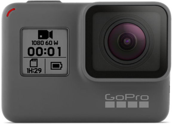 GoPro Hero action camera.