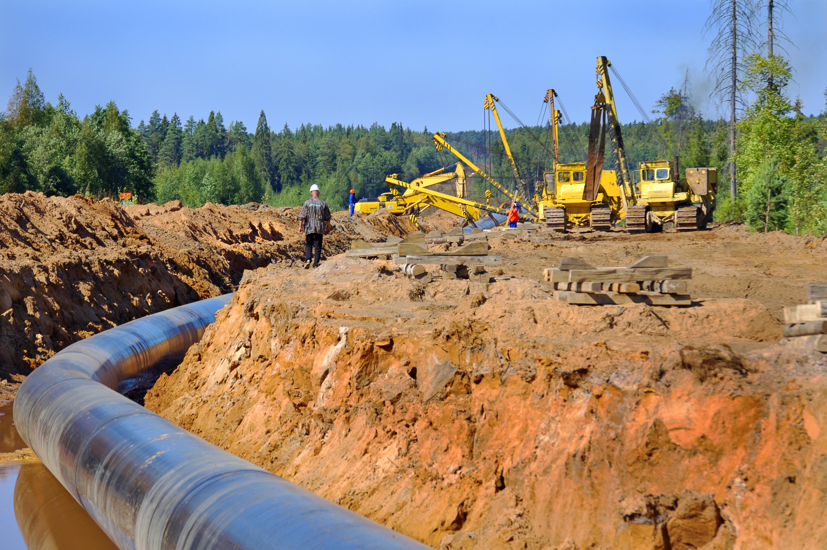был успешно фото строительство трубопровода надеть его любимыми
