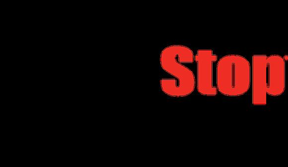 The GameStop logo.
