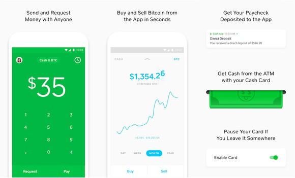 Square's Cash app.