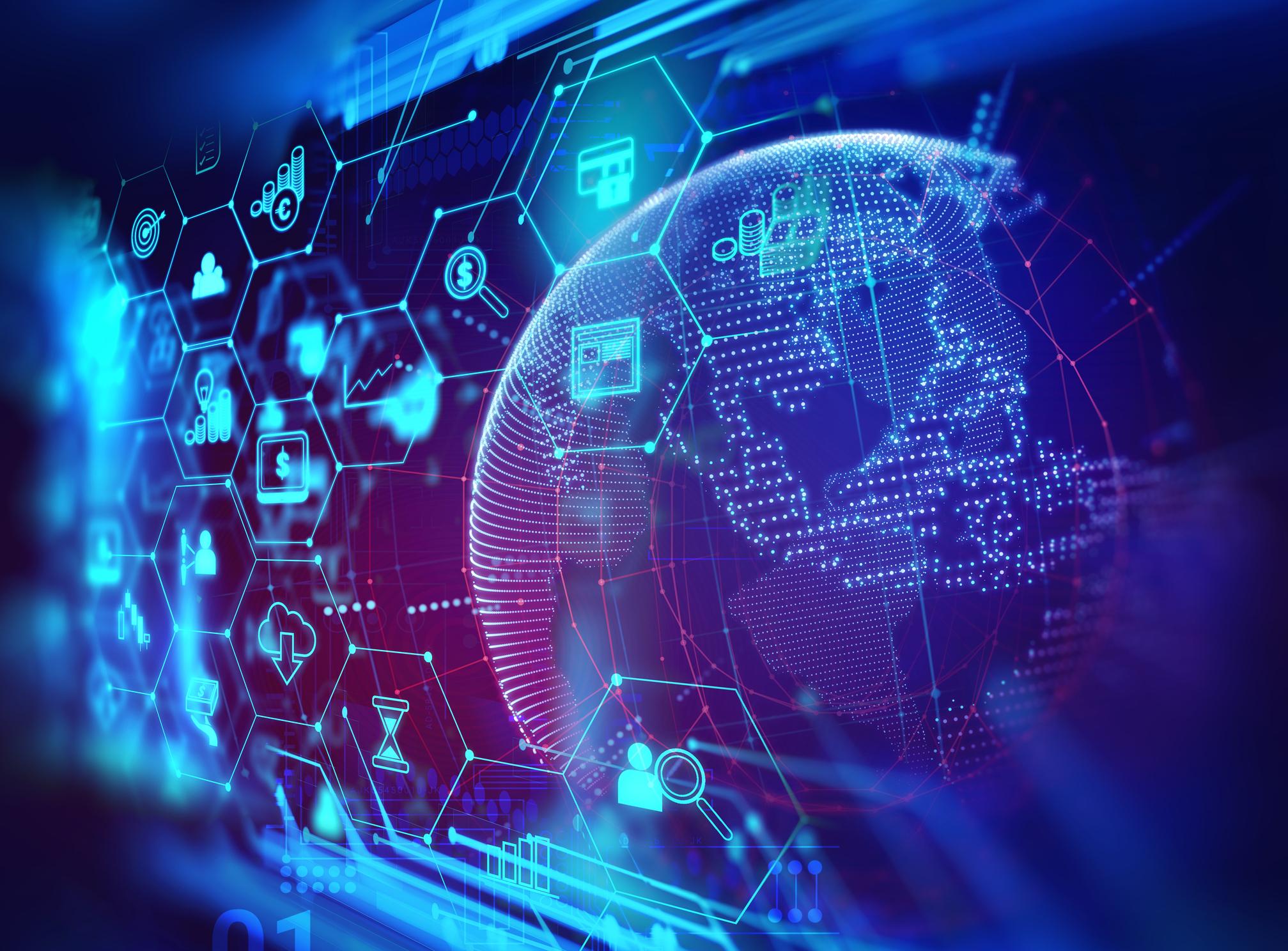 stocks technology tech right fool digital globe icons motley