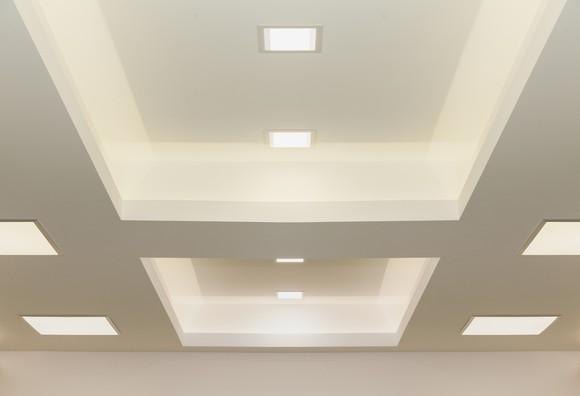Modern ceiling lights.