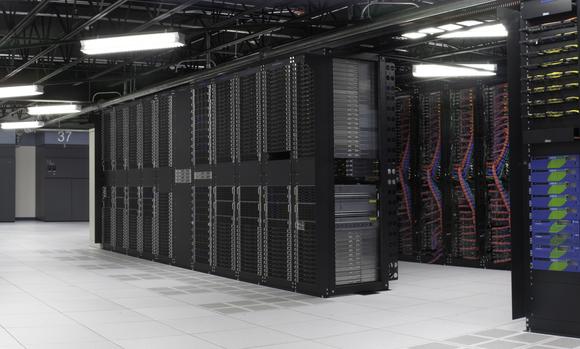 An IBM cloud data center