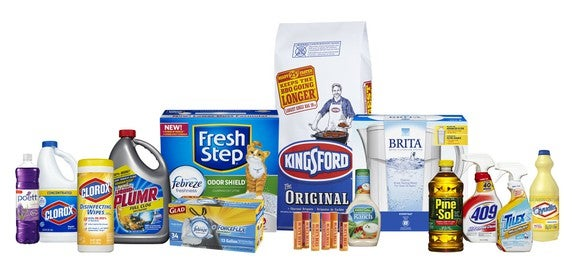 Clorox's products and brands.