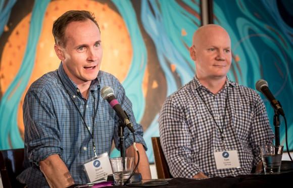 David and Tom Gardner
