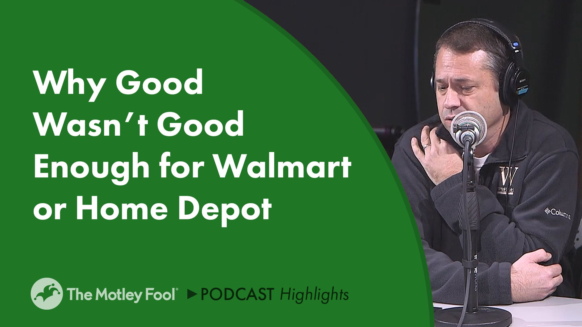 08bc170e5b1 Why Good Wasn t Good Enough for Walmart or Home Depot -- The Motley Fool