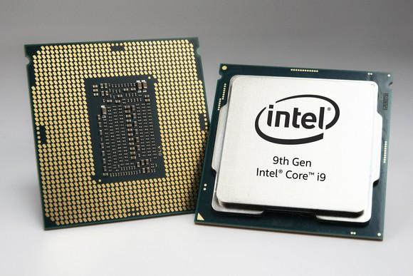 Intel 9th Gen Core desktop chips.