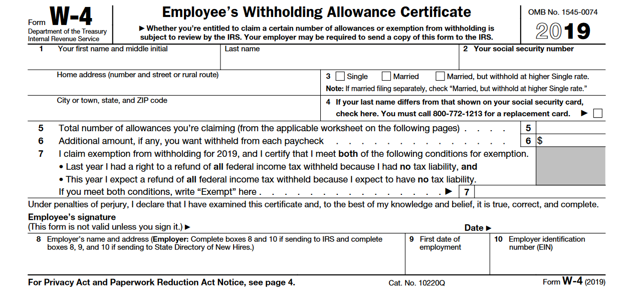 form w 4 line g  This Tax Form Can Give You a Bigger Refund | The Motley Fool