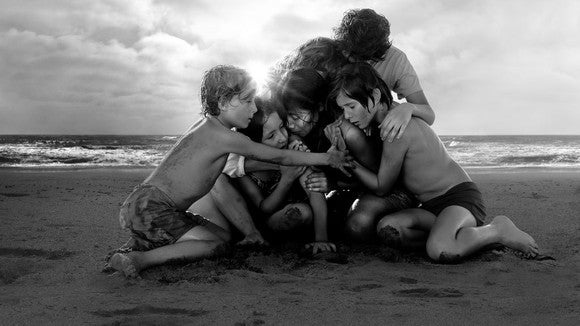 A promotional image for Roma.
