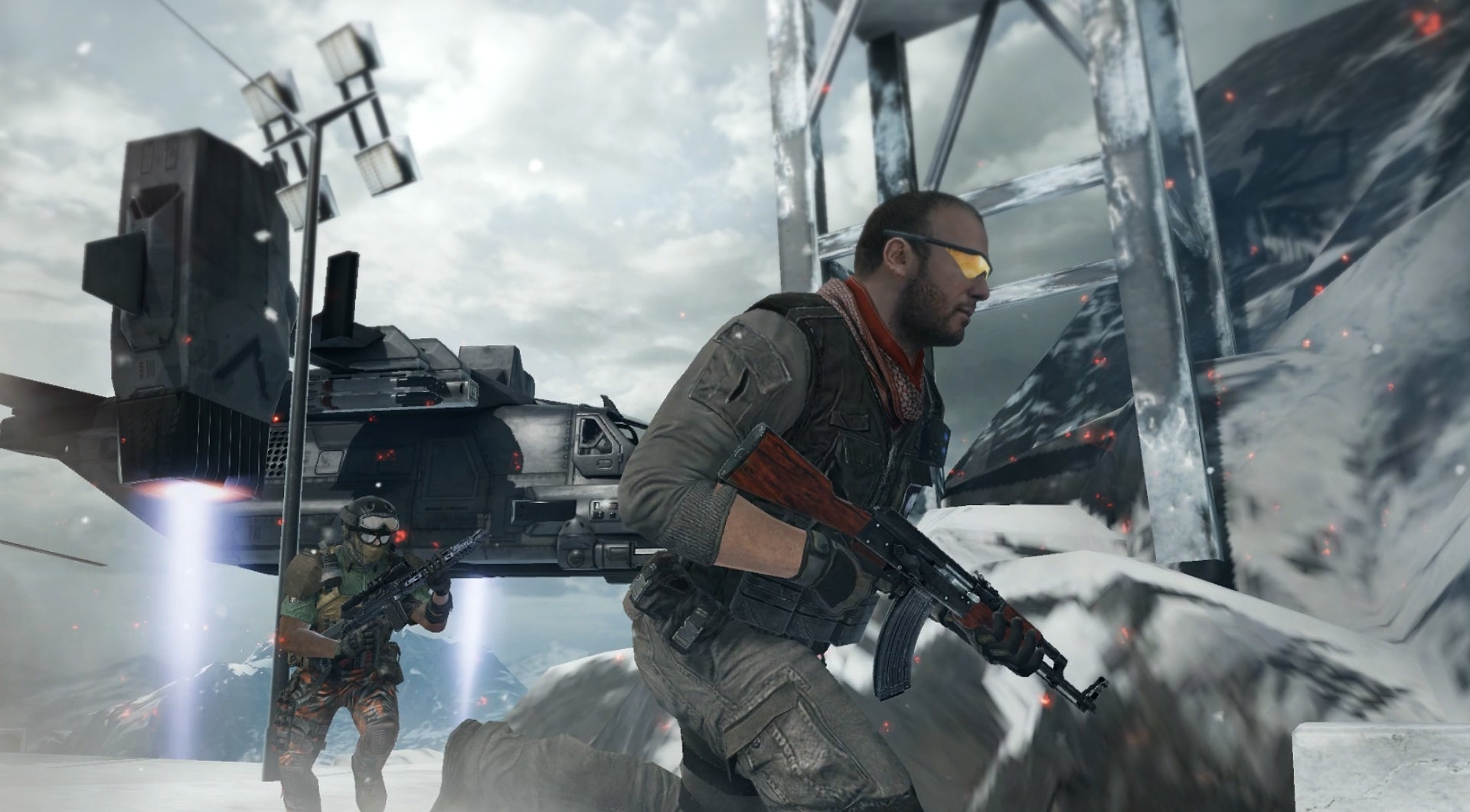 A screenshot from Activision and Tencent's Call of Duty Mobile.