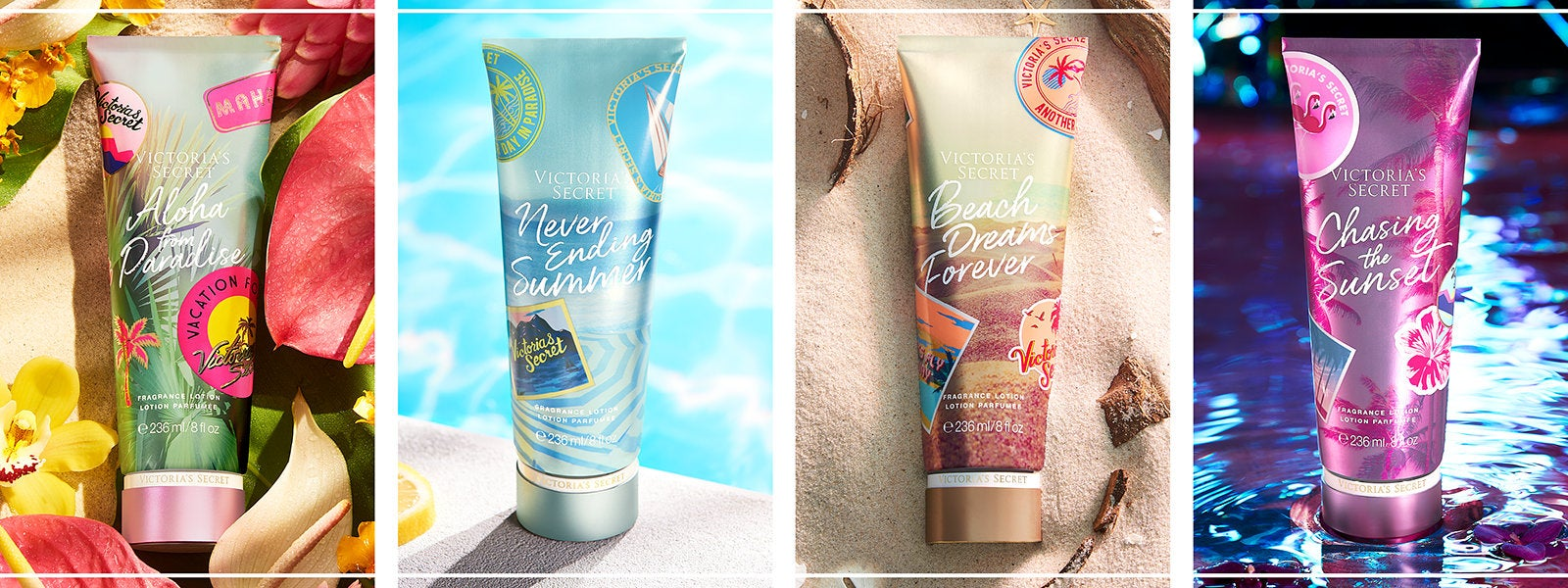 Victoria's Secret skincare products.