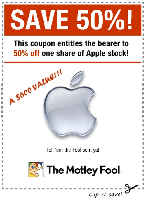 Aapl Coupon
