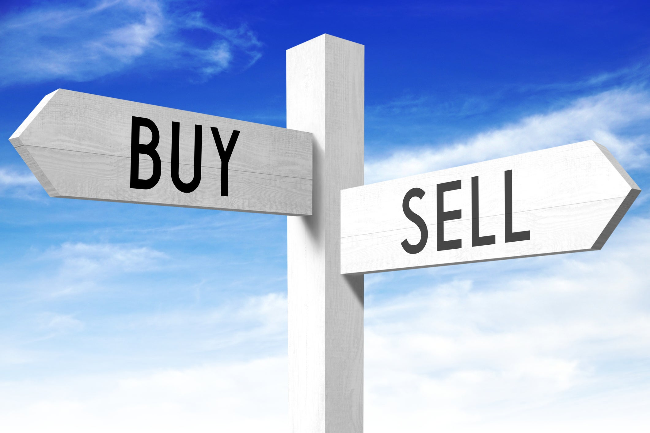 best stock market buy sell signal software