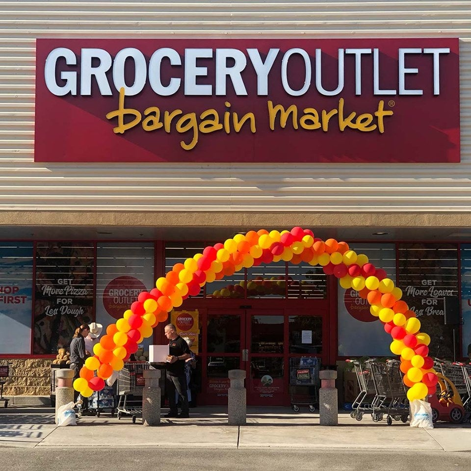 A Grocery Outlet storefront