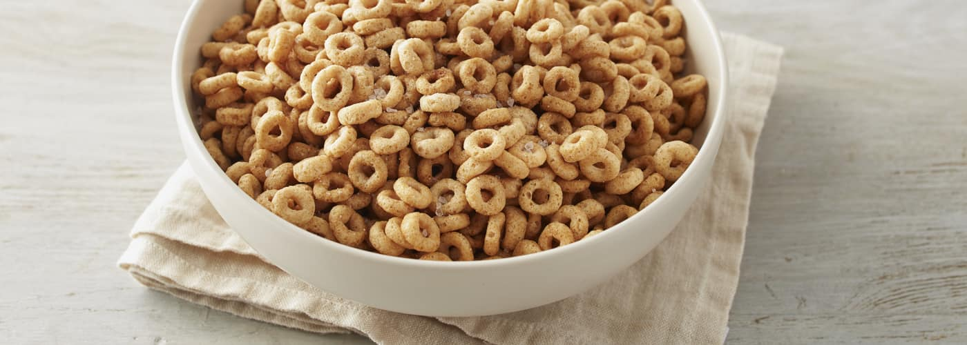 A bowl of Cheerios