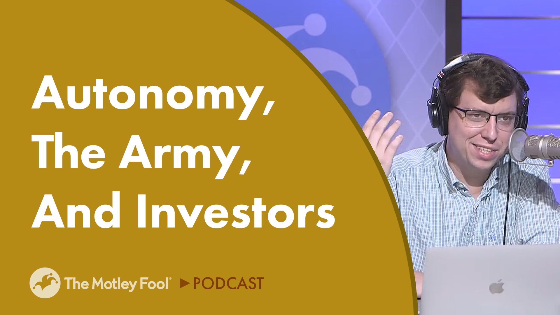 Autonomy, the Army, and Investors