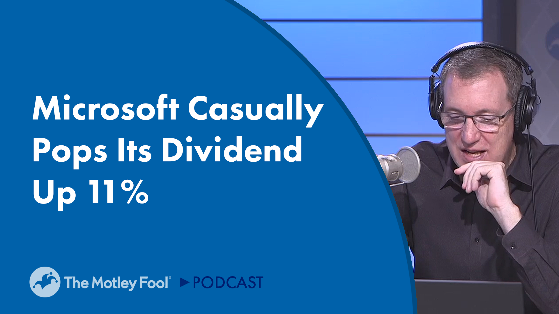 Microsoft Casually Pops Its Dividend 11%