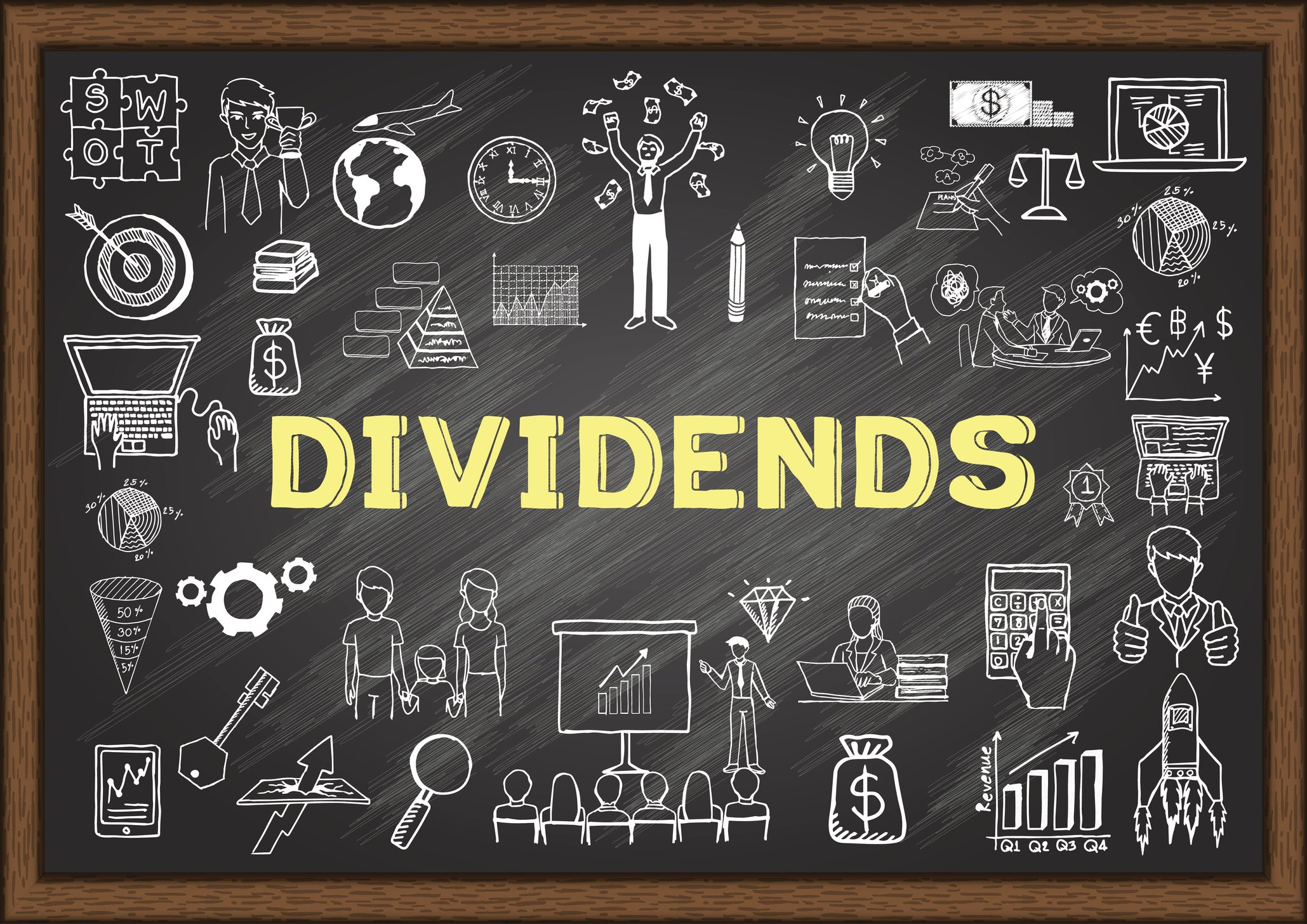 3 Dividend Stocks That Yield More Than 4% Annually   The Motley Fool