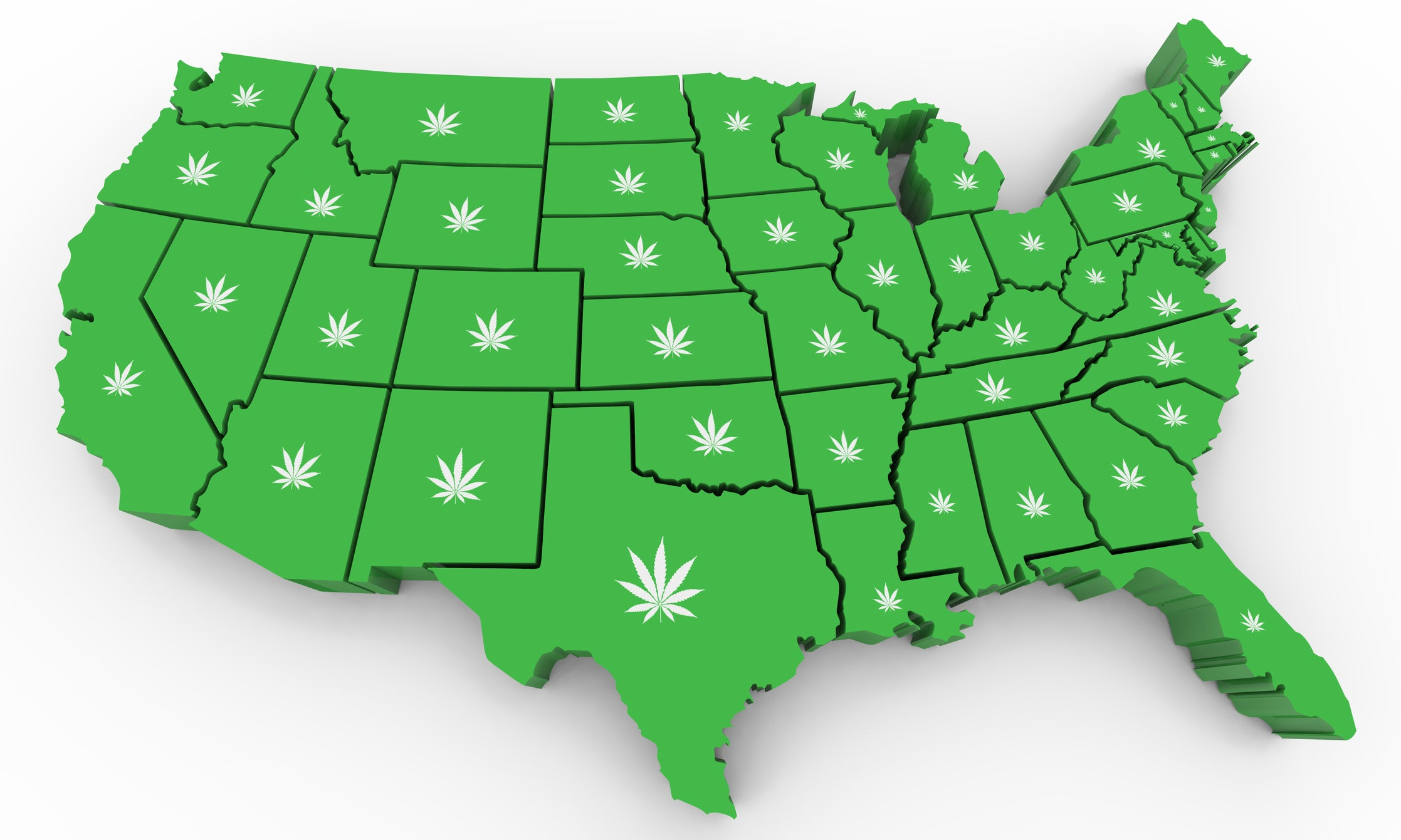 5 Hottest Marijuana Markets in the U.S. -- and the Stocks Set to Win the Most in Them | The Motley Fool