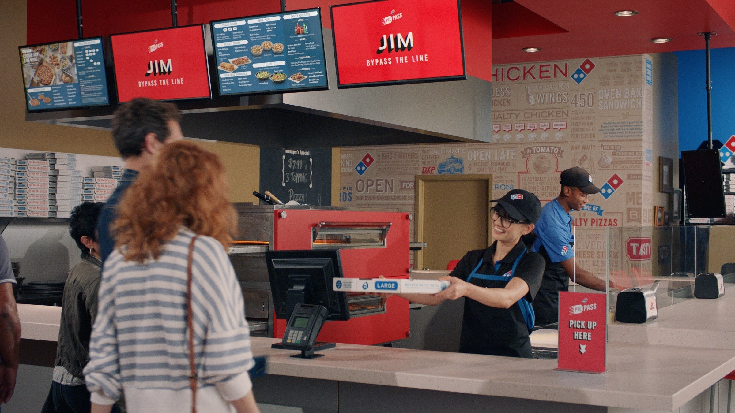 Domino's Speeds Up the Carryout Process with Pie Pass Technology | The Motley Fool