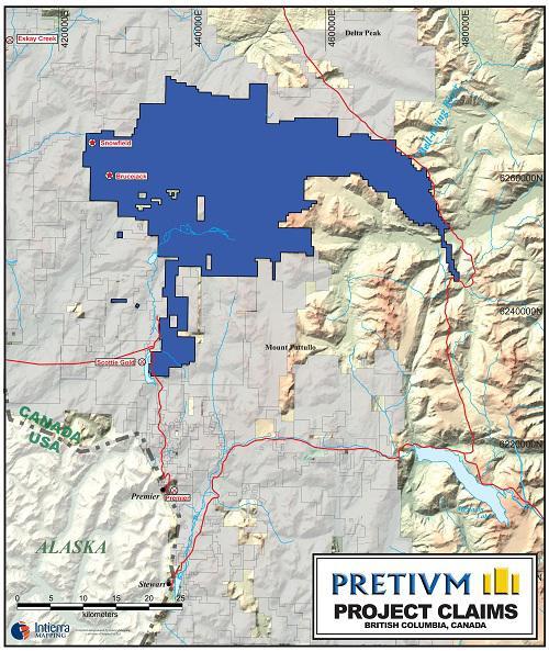 Pretium Claims Map