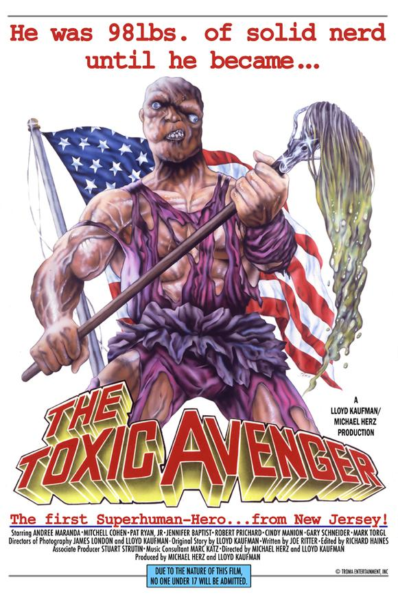 The Toxic Avenger Poster