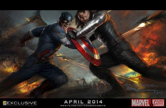 Winter Soldier Concept Art