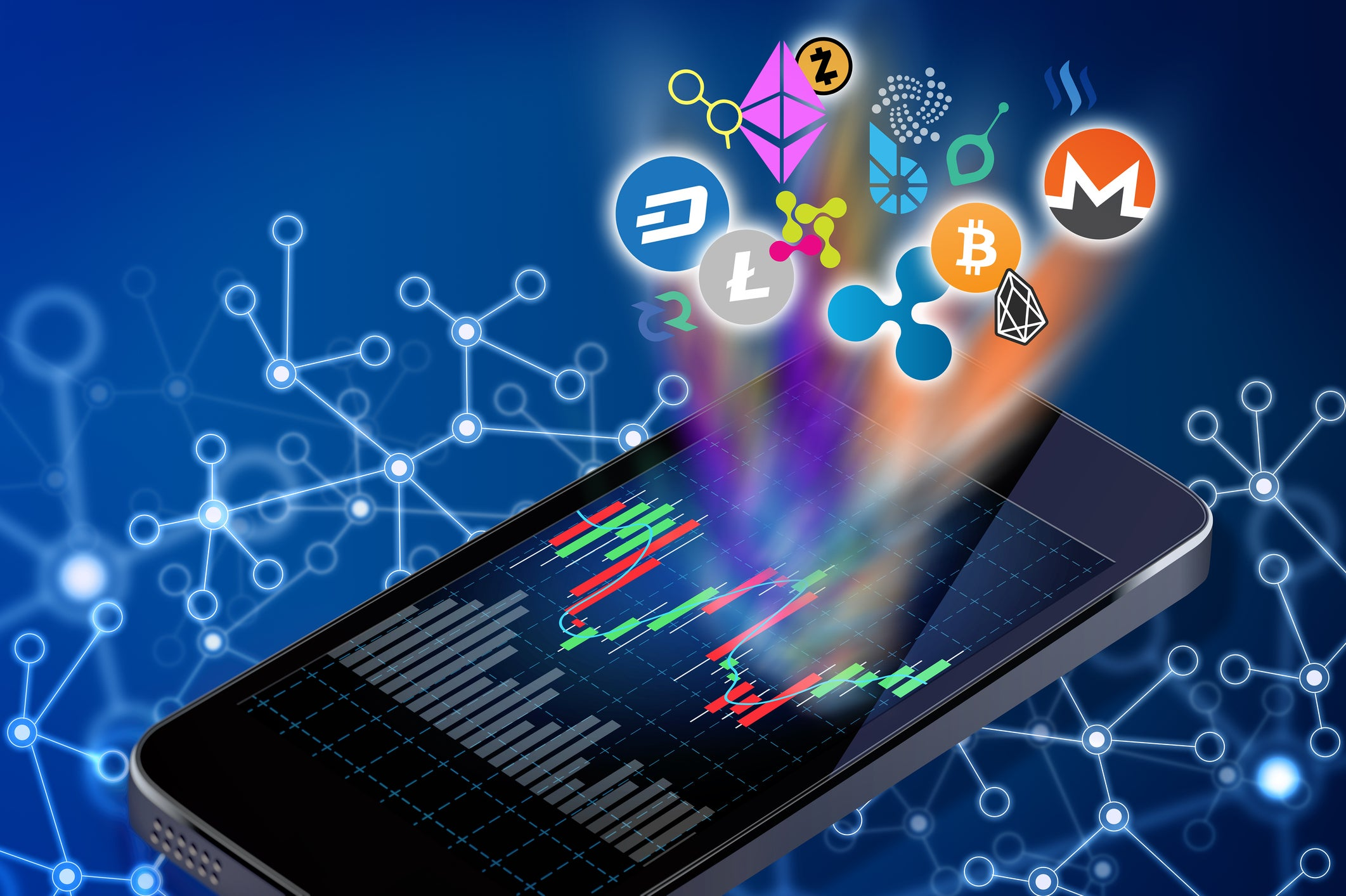 Why Cryptocurrency Stocks Like Canaan, The9, and Riot Blockchain All Skyrocketed Today