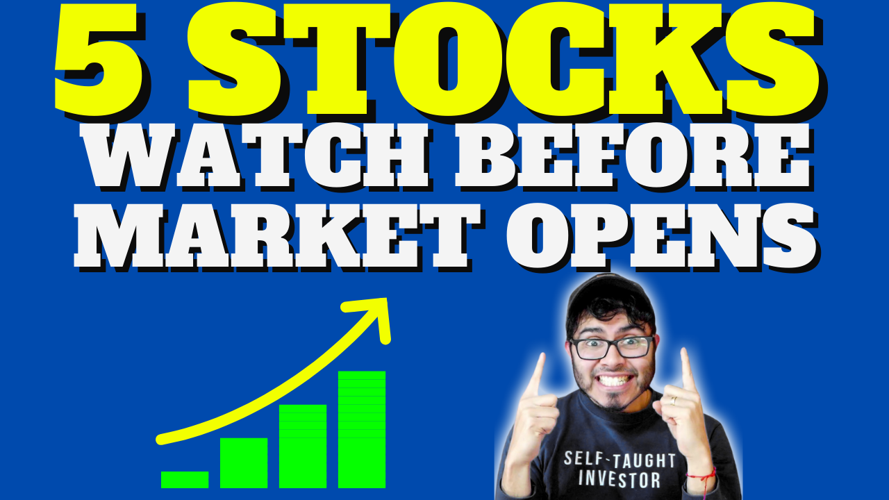 [WATCH] 5 Stocks You Need to Know About This Week