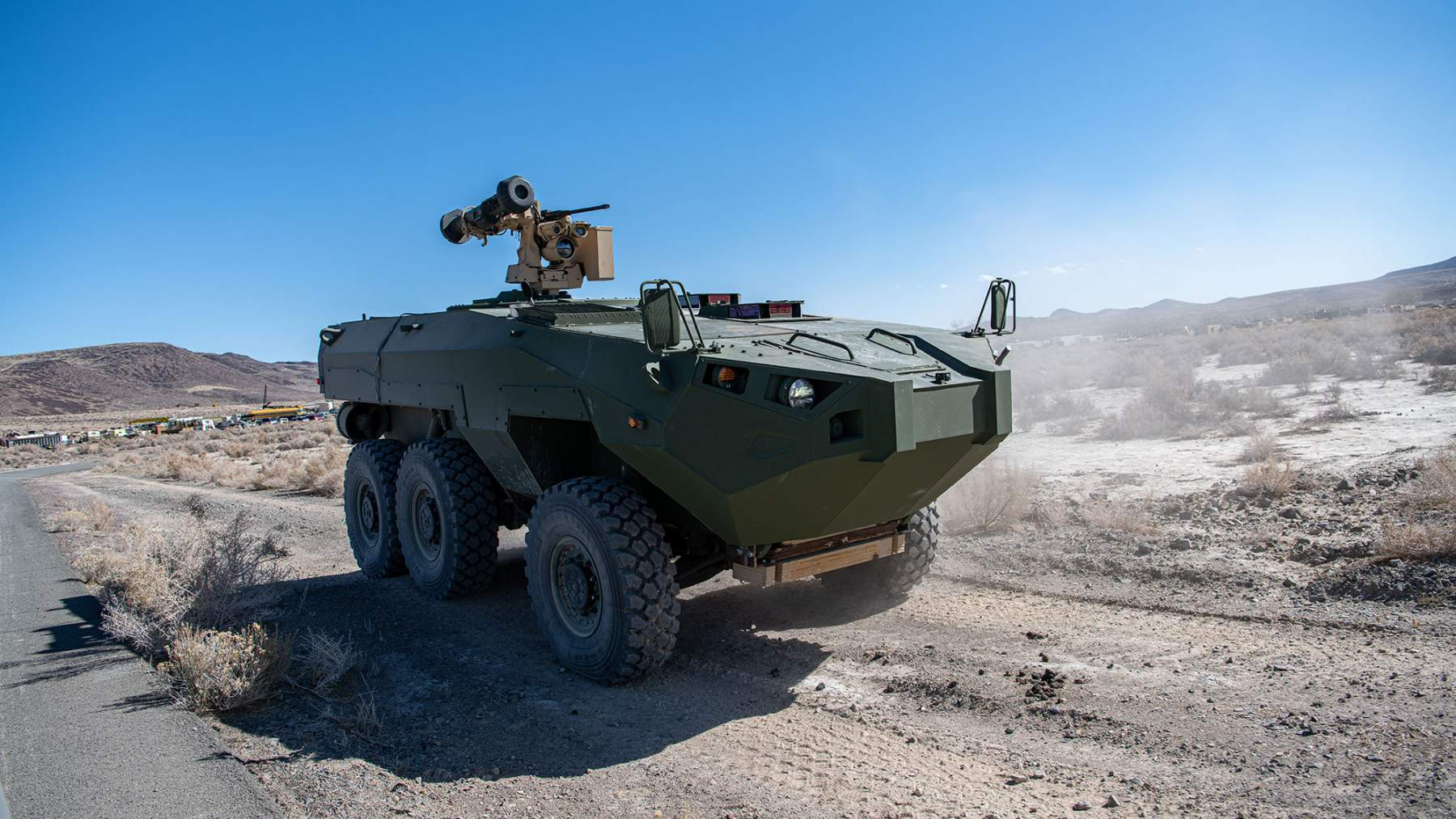 Billions at Stake as U.S. Marines Seek a New Armored Vehicle