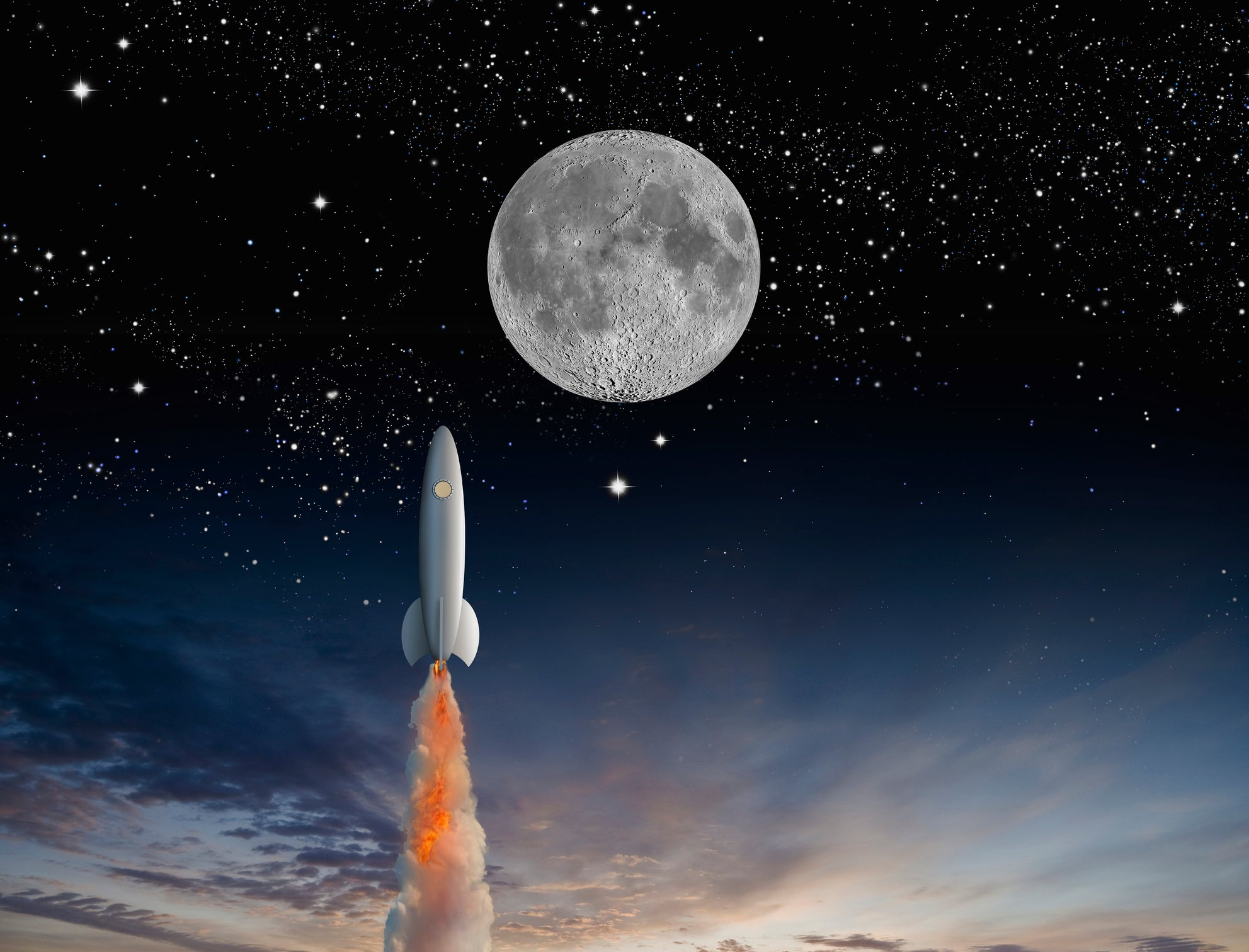 Don't Sweat a Market Crash -- These 7 Stocks Could Go to the Moon