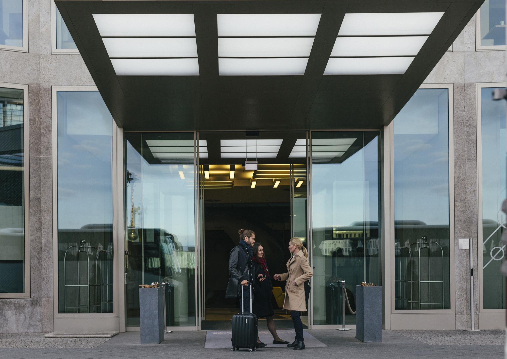 generic hotel entrance getty.