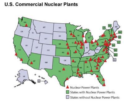 Usa Nuclear Plants