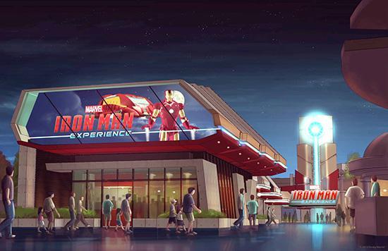 Disney Iron Man Experience