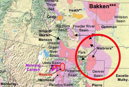Colorado Oil Fields Map Could This Oil Field Be the Next Bakken?   AOL Finance