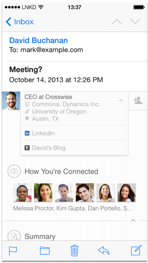 Linkedin Reimagines Email With