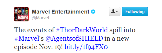 Thor helps Marvel's Agents of SHIELD Ratings compete with CBS