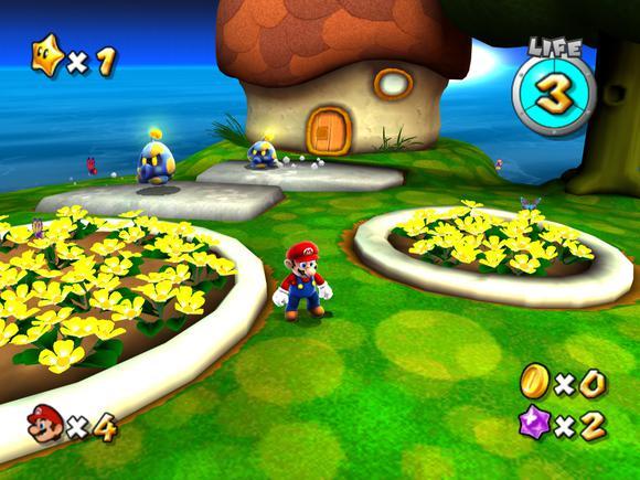 Super Mario Galaxy For Wii