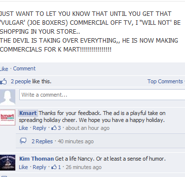 Kmart Facebook