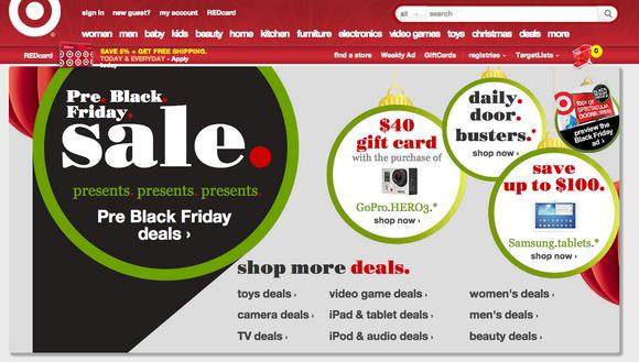 Target New Website Screen Shot