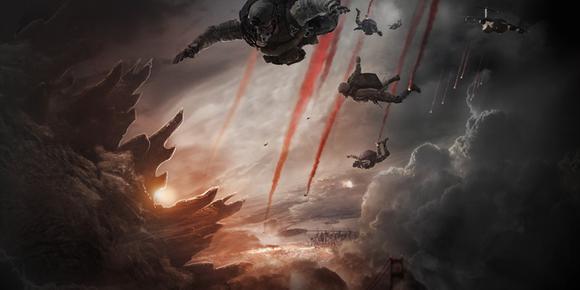 Godzilla Teassr Poster