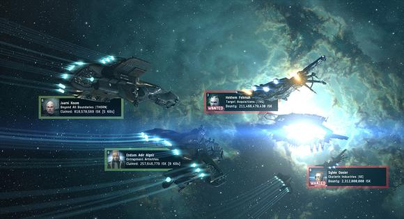 Sci Fi Space Mmorpg Mmo Games Eve Online Retribution Expansion Screenshot