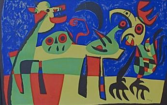 Joan Miro At Costco