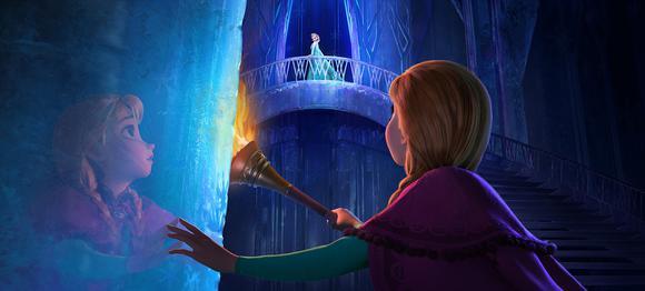 Anna Elsa Ice