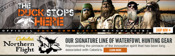 Cabelas Duck Dynasty