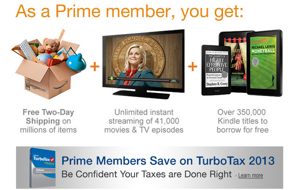 Amazon Prime Service Benefits