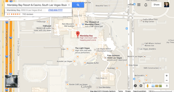 Google Maps View Of Ces