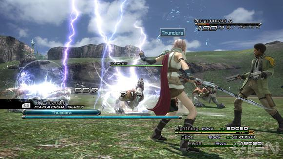 Final Fantasy Xiii Gameplayfinal Fantasy Xiii Review The Controller Online